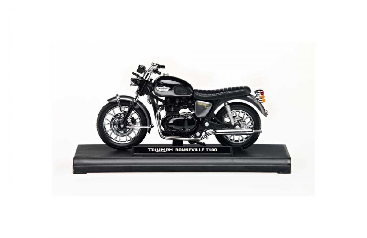 Triumph Bonneville Black T100 118 Model Black Ebay