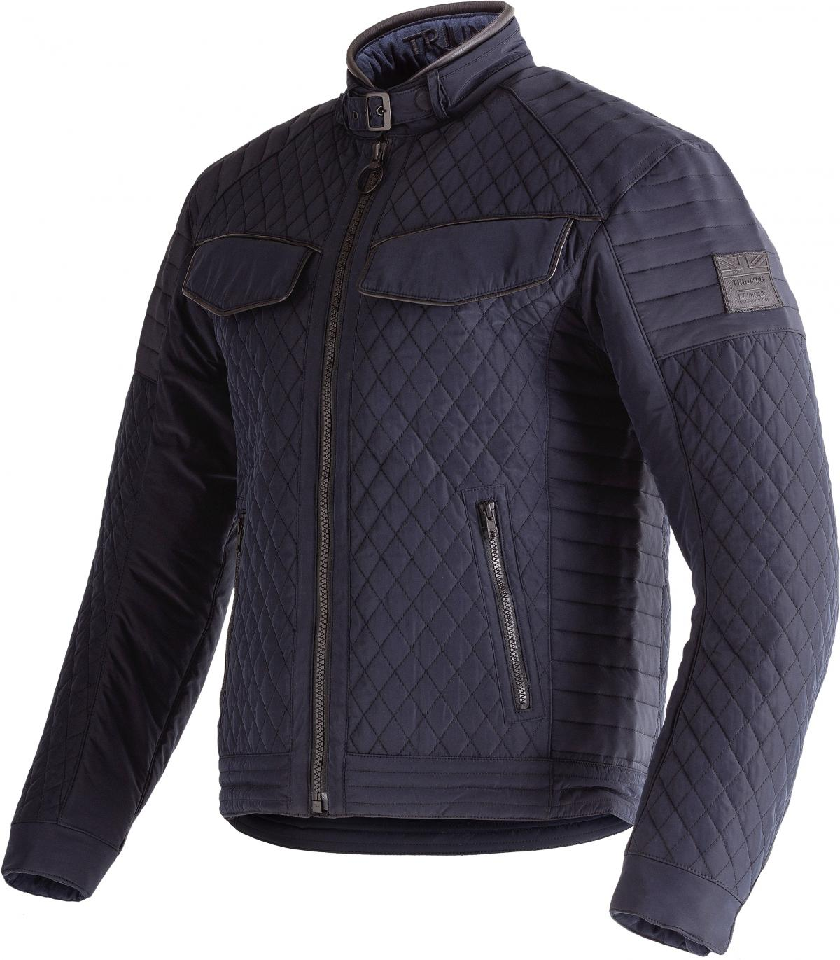 Triumph Barbour Quilted Motorcycle Jacket D30 Armour