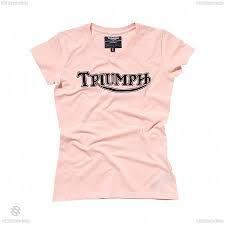 GENUINE Triumph Motorcycles Ladies Ton Up Boys T Shirt  BNWT 90/% OFF RRP